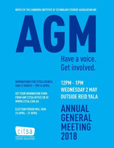 May 2018 - AGM
