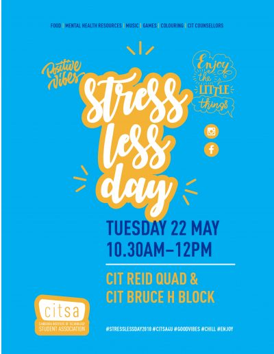May 2018 - stress less day